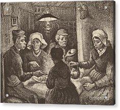 Potato Eaters, 1885 Acrylic Print by Vincent Van Gogh