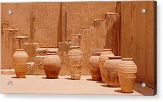 Pots Acrylic Print