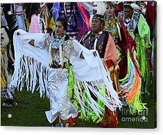 Pow Wow Beauty Of The Past 10 Acrylic Print by Bob Christopher