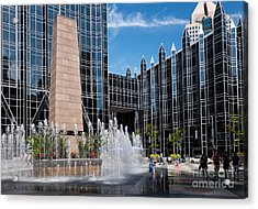 Ppg Place Pittsburgh Pennsylvania Acrylic Print