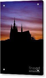 Prague Castle Acrylic Print by Michal Boubin