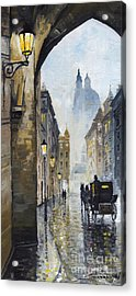 Prague Old Street 01 Acrylic Print