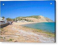 Praia Da Luz Acrylic Print by Carl Whitfield
