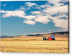 Prairie Red Acrylic Print