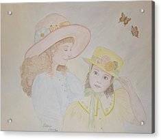 Prairie Sun Hats Acrylic Print