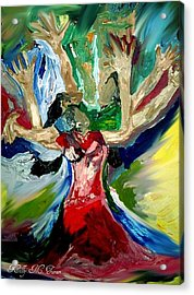 Praise Dance Acrylic Print