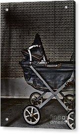 Pram Acrylic Print by Margie Hurwich