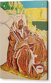 Prayer At Benghazi Acrylic Print by Biagio Civale