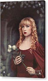 Pre-raphaelite Woman Acrylic Print