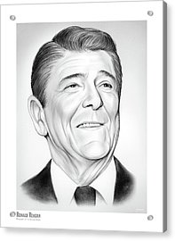 President Ronald Reagan Acrylic Print