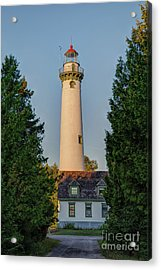 Presque Isle Lighthouse Acrylic Print by Patrick Shupert