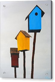 Primary Residence Acrylic Print by Robert Roy