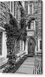 Acrylic Print featuring the photograph Princeton University Foulke Hall II by Susan Candelario