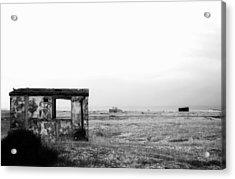 Projekt Desolate Loveshack  Acrylic Print by Stuart Ellesmere