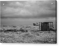 Projekt Desolate The Triple Acrylic Print by Stuart Ellesmere