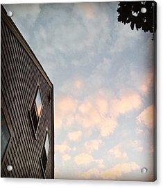 #provincetown #sunset #sunsetporn Acrylic Print by Ben Berry