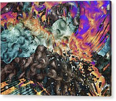 Psychedelic Fur Acrylic Print