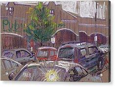 Publix Parking Acrylic Print