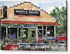 Puckett's Grocery Acrylic Print by Tim Ross