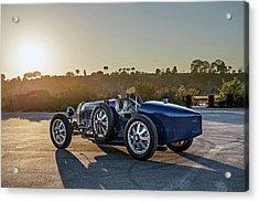 Pur Sang Bugatti Type 35 Acrylic Print by Drew Phillips