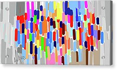 Pure Abstraction-8 Acrylic Print