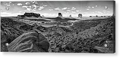 Pure Monument Valley Acrylic Print by Andreas Freund