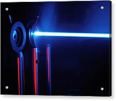 Quantum Entanglement Apparatus Acrylic Print by Volker Steger