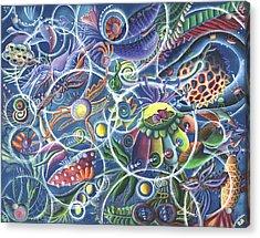 Quantum Entanglement Acrylic Print by Vera Tour
