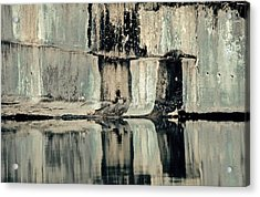 Quarry Acrylic Print by Gillis Cone