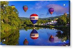 Quechee Balloon Festival. Acrylic Print