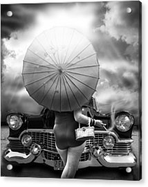 Queen Of The Highway  Acrylic Print by Larry Butterworth