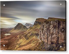 Acrylic Print featuring the photograph Quiraing - Isle Of Skye by Grant Glendinning