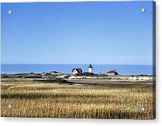 Race Point Lighthouse Acrylic Print by John Greim