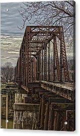 Rail Bridge Acrylic Print