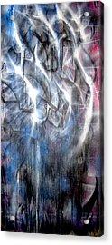 Rain IIi Acrylic Print by Leigh Odom