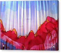 Rain Acrylic Print by Susan Parsley