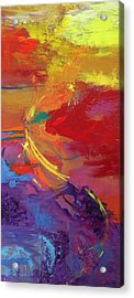 Rainbow Dance Acrylic Print by Sabra Chili