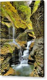 Rainbow Falls  Acrylic Print