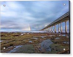 Rainbow On The Horizon Acrylic Print