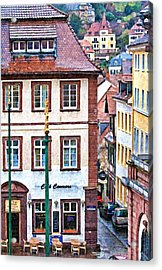 Rainy Day In Heidelberg Acrylic Print