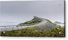 Acrylic Print featuring the photograph Rainy Day On Atlantic Road by Dmytro Korol