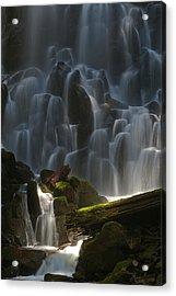 Ramona Falls Oregon Acrylic Print