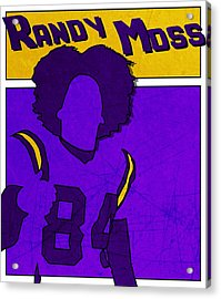 Randy Moss Acrylic Print