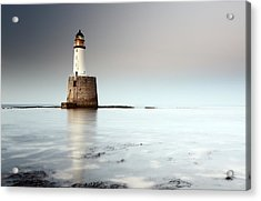 Rattray Head Lighthouse  Acrylic Print by Grant Glendinning