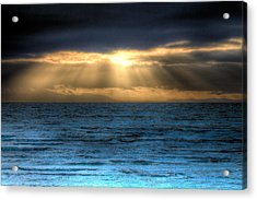 Rays Of Light 2 Acrylic Print by Naman Imagery