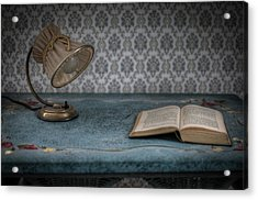 Reading Light Acrylic Print by Nathan Wright