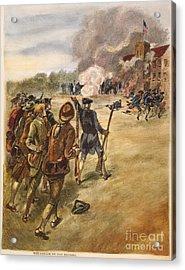 Rebels: Arsenal, 1787 Acrylic Print by Granger