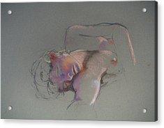 Reclining Study Acrylic Print