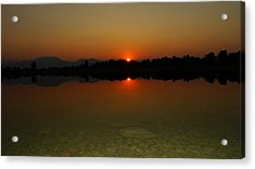 Acrylic Print featuring the photograph Red Dawn by Eric Dee