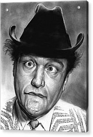 Red Skelton Acrylic Print by Greg Joens